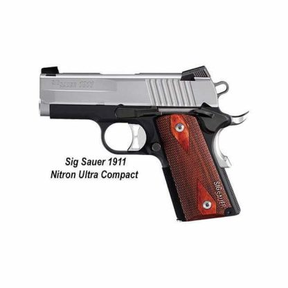 Sig Sauer 1911 Nitron Ultra Compact, 911U-45-BSS, 798681429714, in Stock, For Sale