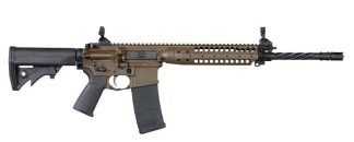 LWRC M6 IC Enhanced Patriot Brown