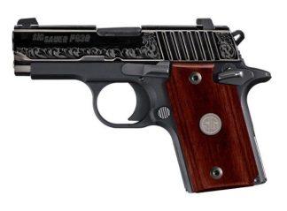 Sig Sauer P938 Engraved Rosewood