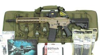 LWRC M6 IC SPR FDE Eotech Package Deal