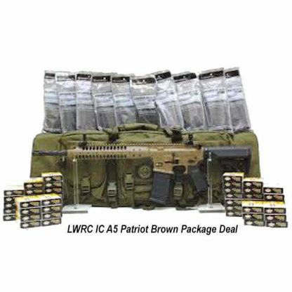 LWRC IC A5 Patriot Brown Package Deal, in Stock, For Sale