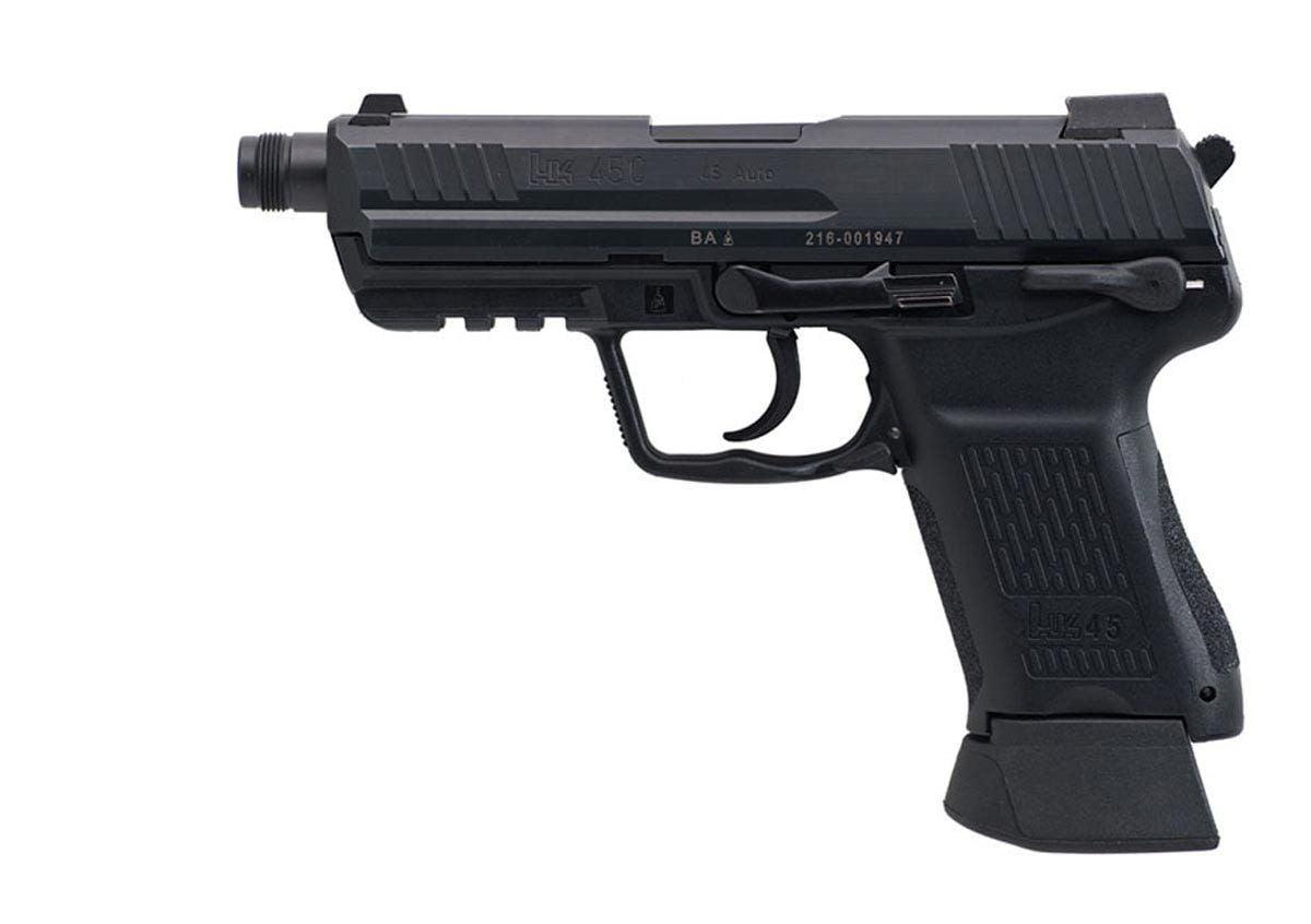 HK45 Compact Tactical, Heckler & Koch HK45 Compact ...
