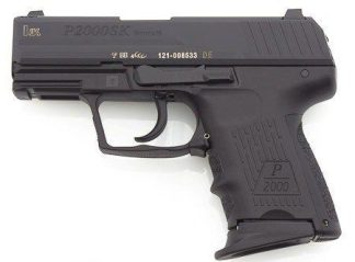 HK P2000 SK Sub Compact Pistol 9mm DA/SA (V3)