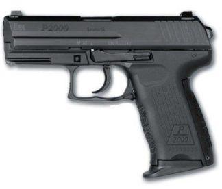 HK P2000 Pistol 9mm DAO