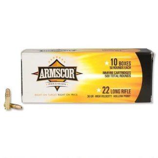 Armscor Ammo 22LR HVHP 36gr 5000 RD Case
