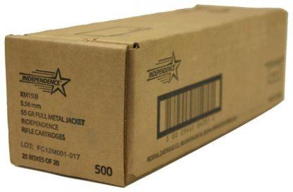 Independence XM193I 5.56 NATO 500 ROUND CASE