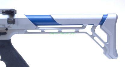 Colbalt Kinetics B.A.M.F Edge Crushed silver / sky Blue