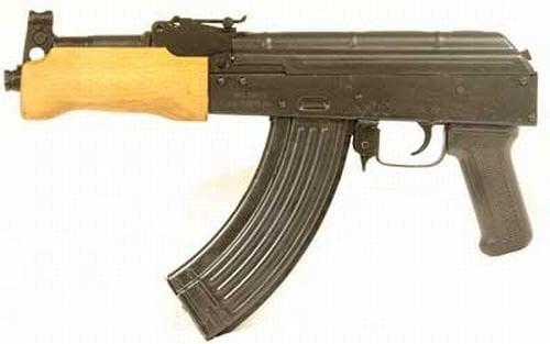 Century Arms Mini Draco AK 47 Pistol 7.62x39mm 7.75in 30rd Black-HG2137-N