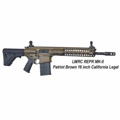 LWRC REPR MK-II Patriot Brown 16 inch California Legal, in Stock, For Sale