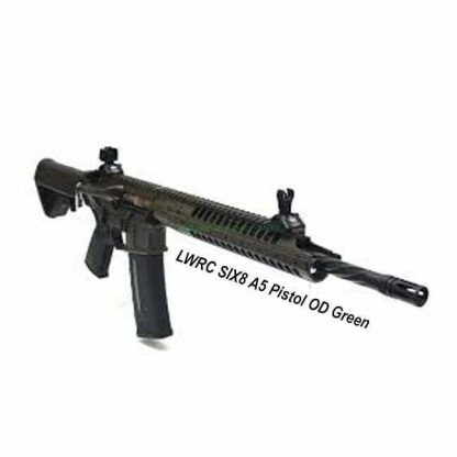 LWRC SIX8 Pistol OD Green, in Stock, For Sale