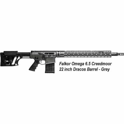 FALKOR OMEGA 6.5 Creedmoor 22 Inch DRACOS Barrel, Grey, CA Legal, in Stock, For Sale