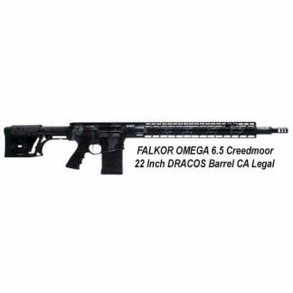 FALKOR OMEGA 6.5 Creedmoor 22 Inch DRACOS Barrel CA Legal, in Stock, For Sale