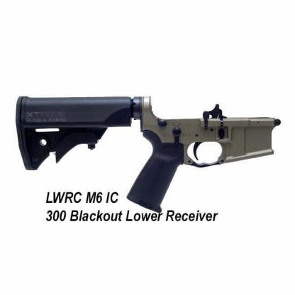LWRC M6 IC 300 Blackout, Lower Receiver Gun Metal Grey, in Stock, For Sale