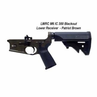 LWRC M6 IC 300 Blackout Lower Receiver Patriot Brown, in Stock, For Sale