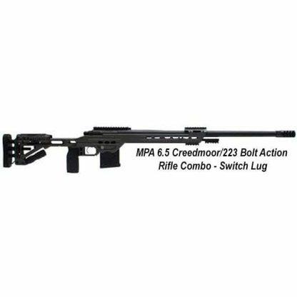 MPA 6.5 Creedmoor/223 Bolt Action Rifle Combo (Switch Lug)