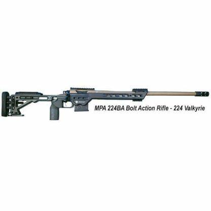 MPA 224BA Bolt Action Rifle, 224 Valkyrie