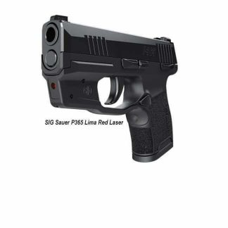 Sig Sauer P365 Lima Red Laser, SOL36501, 798681586059, in Stock, For Sale