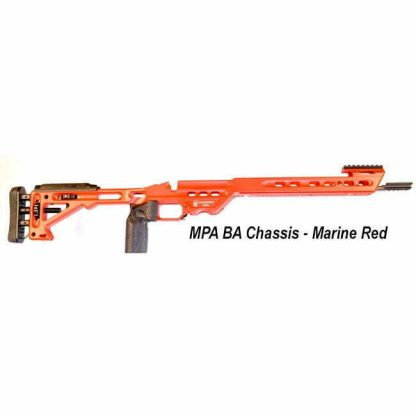 MPA BA Competition Chassis, Marine Red, in Stock, For Sale