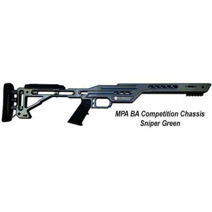 MPA BA Competition Chassis, Sniper Green, in Stock, For Sale