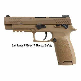 Sig Sauer P320 M17 Manual Safety