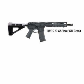 LWRC IC DI Pistol, OD Green, ICDIP5ODG10, ICDIP5ODG10SBA3, 853143008552, in Stock, For Sale