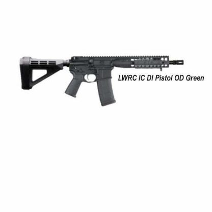 LWRC IC DI Pistol, OD Green, ICDIP5ODG10, ICDIP5ODG10SBA3, 853143008552, in Stock, For Sale