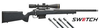 Proof Research Switch Rifle 6mm Creedmoor – Black