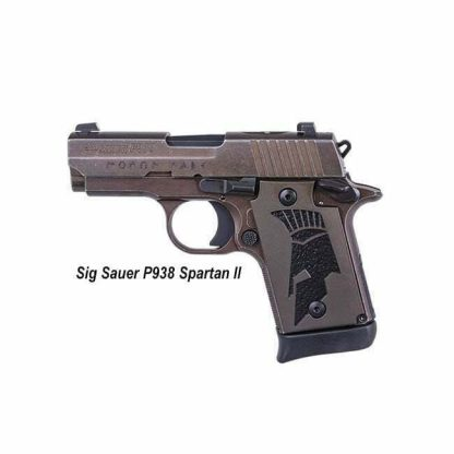 Sig Sauer P938 Spartan II, 938-9-SPARTANII-AMBI, 798681605149, in Stock, For Sale