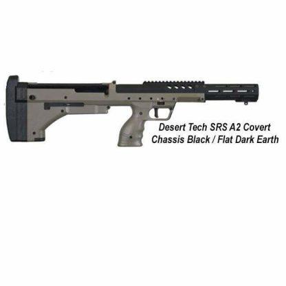Desert Tech SRS-A2 Covert Chassis, Black / Flat Dark Earth, DT-SRSA2-CBF00R, in Stock, For Sale