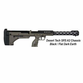 Desert Tech SRS-A2 Chassis, Black / Flat Dark Earth, DT-SRSA2-SBF00R, in Stock, For Sale