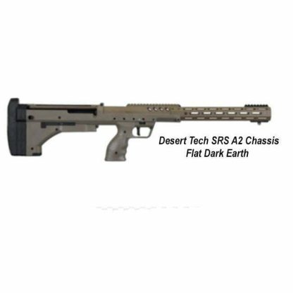 Desert Tech SRS-A2 Chassis, Flat Dark Earth, DT-SRSA2-SFF00R, in Stock, For Sale (FDE)