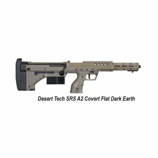 Desert Tech 6 5 Cm Desert Tech Srs A2 Covert 6 5 Creedmoor Fde Bolt Action Rifle