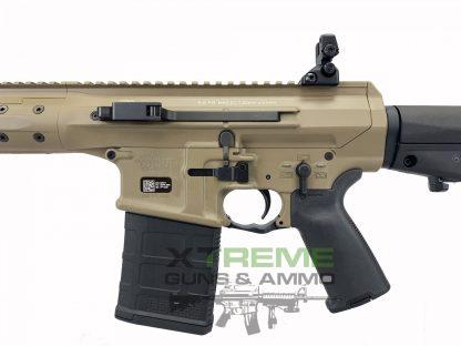 LWRC REPR MKII SC 7.62 Elite 16 inch, FDE, LWRC REPR Elite 308, Side Charge, 16 inch