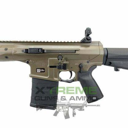 LWRC REPR MKII SC 7.62 16 inch, Patriot Brown, LWRC 7.62/308 Side Charge, 16 inch