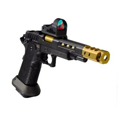 STI DVC O Black/Gold 38 Super, STI DVC Open Black/Gold 38, STI 10-601000-90, STI 816781016297