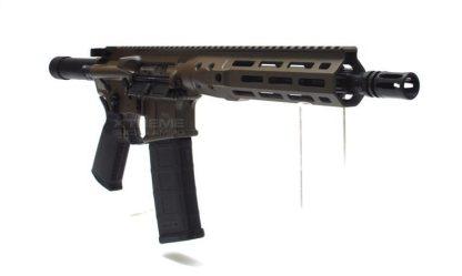 LWRC IC DI Pistol Patriot Brown, M-LOK
