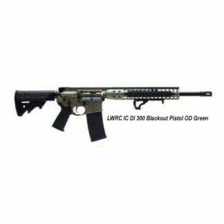 LWRC IC DI 300 Blackout Pistol OD Green, in Stock, For Sale
