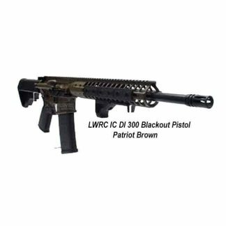 LWRC IC DI 300 Blackout Pistol Patriot Brown, in Stock, For Sale