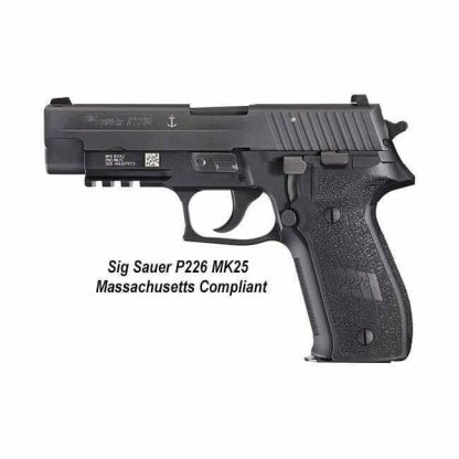 Sig Sauer P226 Nitron Massachusetts Compliant (10 Round), 226RM-40-BSS, 798681294664, in Stock, For Sale