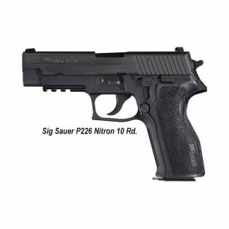 Sig Sauer P226 Nitron (10 Round), 226R-9-BSS, 798681264841, in Stock, For Sale