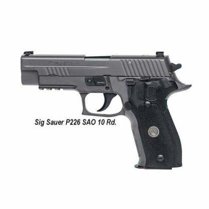 Sig Sauer P226 Legion SAO (10 Round), 226R-9-LEGION-SAO , 798681538850, in Stock, For Sale