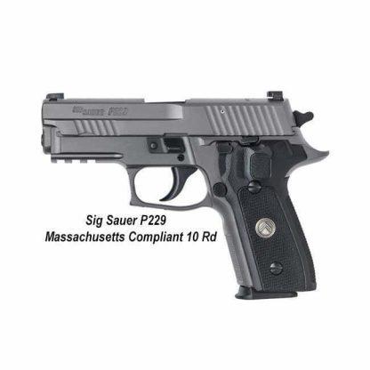 Sig Sauer P229 Legion Massachusetts Compliant (10 Round), 229RM-9-LEGION, 798681582518, in Stock, For Sale