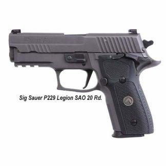 Sig Sauer P229 Legion SAO (10 Round), 229R-9-LEGION-SAO, 798681591541, in Stock, For Sale