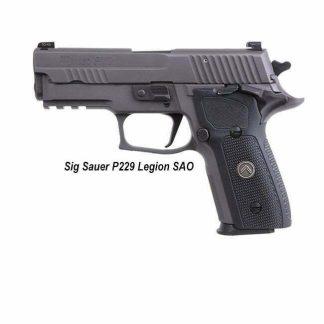 Sig Sauer P229 Legion SAO, 229R-9-LEGION-SAO, 798681626663, in Stock, For Sale