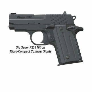 Sig Sauer P238 Nitron Micro-Compact (Contrast Sights), 798681415205, in Stock, For Sale
