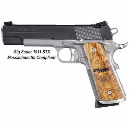 Sig Sauer 1911 STX Massachusetts Compliant, 1911M-45-STX, 798681583393, in Stock, For Sale
