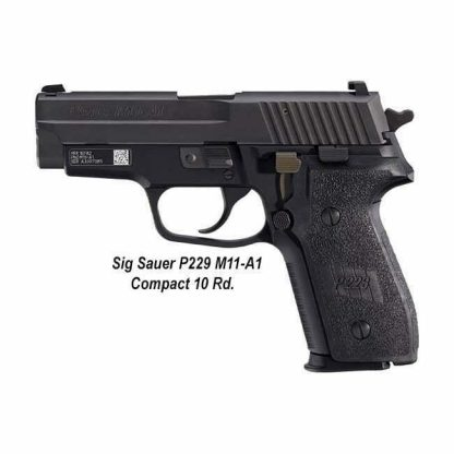 Sig Sauer P229 M11-A1 Compact (10 Round), M11-A1-10, 798681453160, in Stock, For Sale