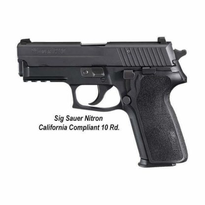 Sig Sauer P229 Nitron California Compliant (10 Round), 229R-9-BSS-CA, 798681430413, in Stock, For Sale