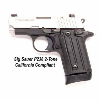 Sig Sauer P238 2-Tone California Compliant, 238380TSSCA, 798681435951, in Stock, For Sale
