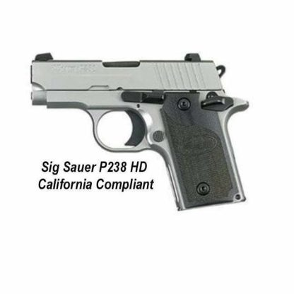 Sig Sauer P238 HD California Compliant, 238-380-SP-3, 798681000029, in Stock, For Sale